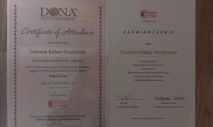 doula certyfikat